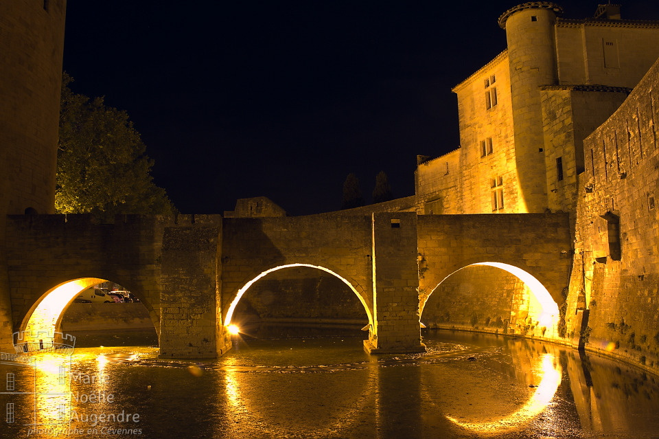 Aigues-Mortes by night