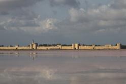 Aigues-Mortes, vue des Salins