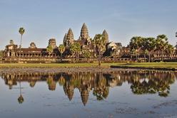 Angkor Vat et son miroir