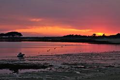 Coucher de soleil en Morbihan