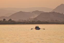 Udaïpur - Sur le lac